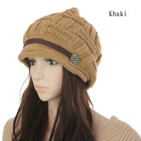 Wholesale Winter New Arrival Women s Hats Solid Color Lady s Caps Acrylic Warm Woman s Headwear Quality Goods
