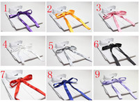Wholesale crossover bowtie Cross bow women s bowtie men s bow ties more colours