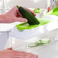 Wholesale Retail Selling Fruit Vegetable Nicer Dicer Kitchen Tools Cutter Plus Chop Peeler Chopper