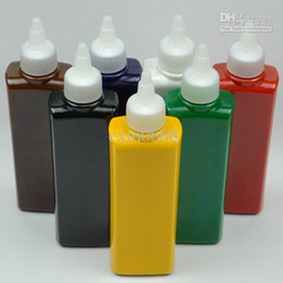Wholesale 250ml high quality tattoo pigment color Tattoo Ink Black green red white blue golden yellow