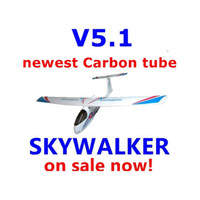 Wholesale Remote Control Electric Powered Discount New V5 SKYWALKER Propeller Glider mm Modle Airplane For Sale RC Model Planes Kits FPV mm