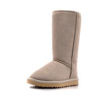 Wholesale 2012 Top Quality UBG Women Snowboots Girls Warm Winter Footwear Waterproof Sheepskin Fur Boots