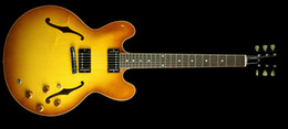 Wholesale best china guitar Custom Electric Guitar Iced Tea OEM Musical Instruments Free