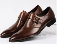 Wholesale New British fashion Esquire necessary popular men s shoes hasp top leather business dress shoes