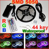 Wholesale 20m SMD RGB LED Strip Light m led Waterproof V key IR Remote Control power supply
