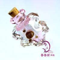 Charms aroma scent - Murano glass perfume bottle pendant scent vial jewelry Aroma pendant vial perfume pendant glass spray perfume bottle aromatherapy diffuser