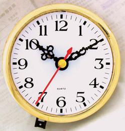 Wholesale Whole sale mm Insert clock watch movement clock mechanism clock parts Arabic number sets lo