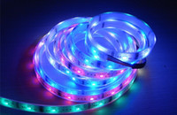 Wholesale 10pcs NEW M Waterproof RGB LED strip Light IC SMD Dream color light V