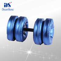 Wholesale by EMS pairs dumbbell equipment water poured dumbbell have RoHS