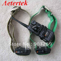 Wholesale DHL Free Set S S Aetertek Wireless Waterproof Dog Training Collar Smart Dog Collar