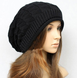 Wholesale Brand Winter Hats Couples Hat knitting Wool BBOY CAP Flanging Multicolor pin check brand new china manufacturer pc
