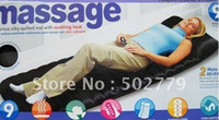 Wholesale luxurious silky quilted Motor Massage Mat With Soothing Heat Sample