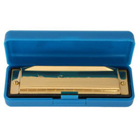Wholesale For Swan Harmonica Holes Key Of C Golden Brand New