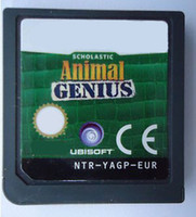 Wholesale Animal Genius EU version for DS DSI DS DSXL DS LITE any Game console via DHL