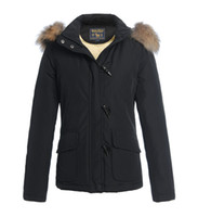 Hot Brand Parka Blizzard Women Jacket Ivory buckle coats Rac...