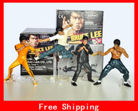 Wholesale 4 Style Of Bruce Lee Action Figures Action toy Figures per set PVC cm Height