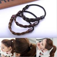 Wholesale Fashion Wig Hair Rope Hair Tie Accessories Hair Bands Headdress