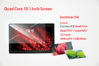 Wholesale Android Zenithink C94 inch Tablet PC Freescale IMX6Q Quad Core GHz Dual Camera HDMI