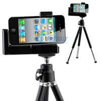 Wholesale Tripod Mount Holder Stand for iPhone Mobile Phone Camera