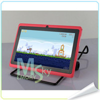 Wholesale Q88 inch android capactive A13 M G tablet Tablet PC wifi the best gift for Christmas