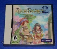 Wholesale Rune Factory A Fantasy Harvest Moon GAME Cards Brand New for any Game Console via EMS