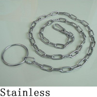 Chirstmas stainless steel collar - stainless Steel Chain Leads dog Chain pet Supplies Dog Collars Leashes