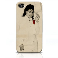 Wholesale Iphone S Case Cheap Cases Iphone S Hard Covers Protectors Michael Jackson in White Suit Case