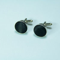 Wholesale jewelry Men s Jewelry Cufflink Men s Cuff Link Black pairs F00293
