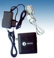 Wholesale Original i BOX Satellite Smart Dongle ibox RS232 DVB S Sharing tv channels i box South America
