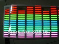 Wholesale EL Panel EL backlight EL equalizer cm cm Music beating More color choice
