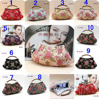 Wholesale Ladies Wedding Party Handbags Beaded Evening Bag Kinds Selected Bridal Hand Bags