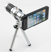 Wholesale New Coming Tripod Holder with x Times Zoom Telescope Lens Telephoto For iPhone