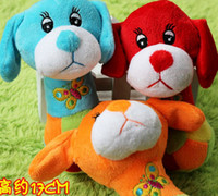 Wholesale Cute Plush Dog Toy Pet Dog Squeaky Chew Toy Sound Funny Animal Toy Christmas Gifts