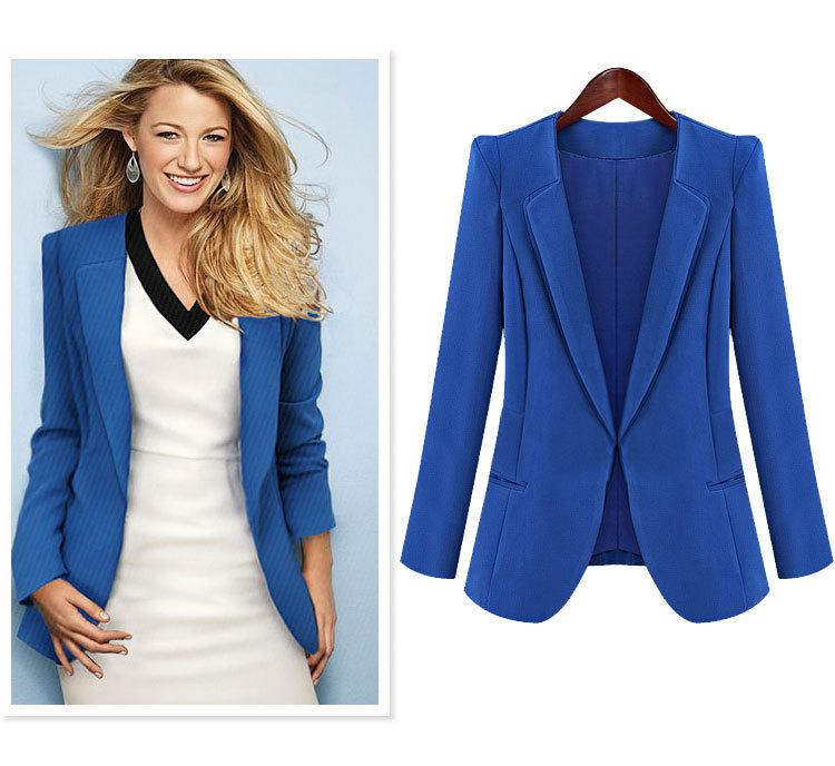 New style women blazer jacket high quality europe and us style black
