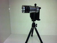 Wholesale Tripod Holder with x Times Zoom Telescope Lens Telephoto For iPhone