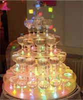 Wholesale Christmas light Colorful LED Ice Cube Light Wedding Party Christmas Decorati