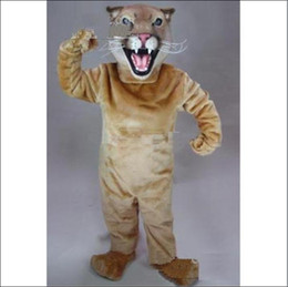 Wholesale 2012 new Cougar Mascot Cartoon clothing manufacturers custom size Plush Christmas