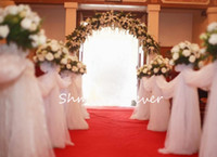 Wholesale New arrival CM widthX110M Long Wedding Drapes Swage Decoration Organza Fabrics