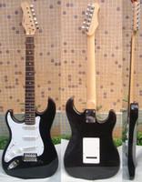 Wholesale only guitar Black left handed electric guitar veldt
