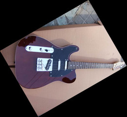 New China Brand NEW electric Guitar left handed Brown 201101