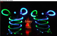 Wholesale 100pcs LED LIGHT UP SHOELACES DISCO FLASH LITE GLOW STICK NEON