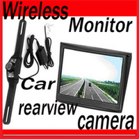 Wholesale 3 quot Wireless LCD Monitor Car Rear View Security Parking Reversing IR Camera System