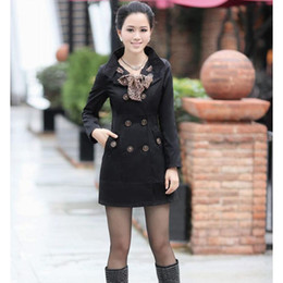 Wholesale Hot Koarean style slim casual women s wind coat women s overcoat outwear with scarf upper garment
