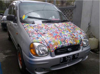 Wholesale HellaFlush Sticker Bomb Sheet with air drain x m