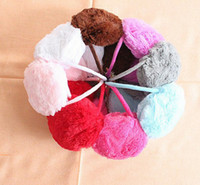 Wholesale Lovely Vute Hot Soft Warm Plush Fluffy Muff Earmuff Ear Cover Earcap
