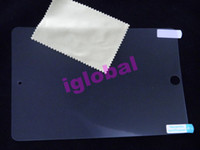 Wholesale Retail paking screen guard film protector front for iPad mini high super clear antil