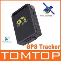Cheap Realtime Mini GPS Tracker GPS GPRS GSM Tracking Device TK102 for Car Children Pets H4149 1pcs