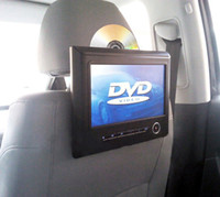 Wholesale 9 Inch Digital Screen Car Headrest DVD Player LCD Monitor with FM IR function Support USB SD Games