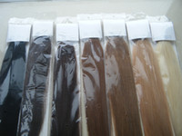 Wholesale 24 quot g PU tape ins Glue Skin Weft Hair Extension Indian Remy Human hair AAA Grade