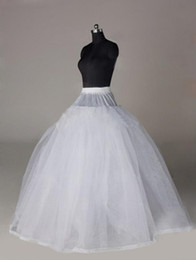 Wholesale 2012 Hot Sale Cheap Actual images Ball Gown Floor Length No Hoop Layer by Layer White Wedding Petticoat Bridal Underskirts